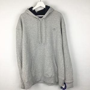 NWT Champion Gray Power Blend Hoodie S0899 Size XL